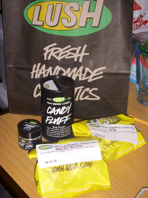Review: Lush Candy Fluff & Sweet Lips
