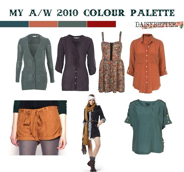 Style Dilemma: AW10 Colour Palettes
