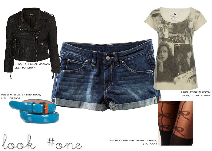 Ways to Wear: Denim Cut-Off Shorts