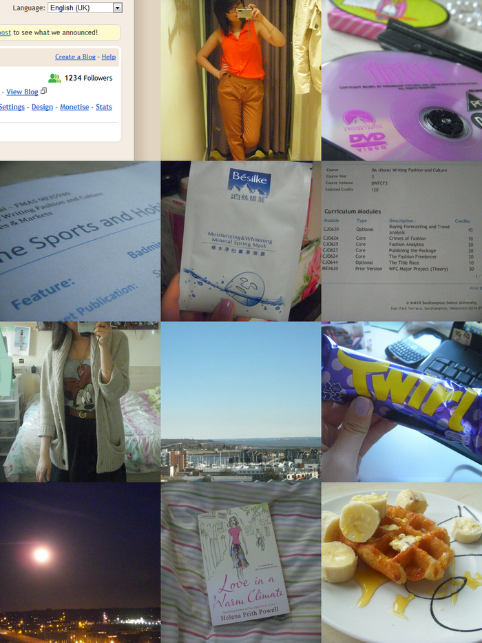 A (procrastinating student's) week in photos
