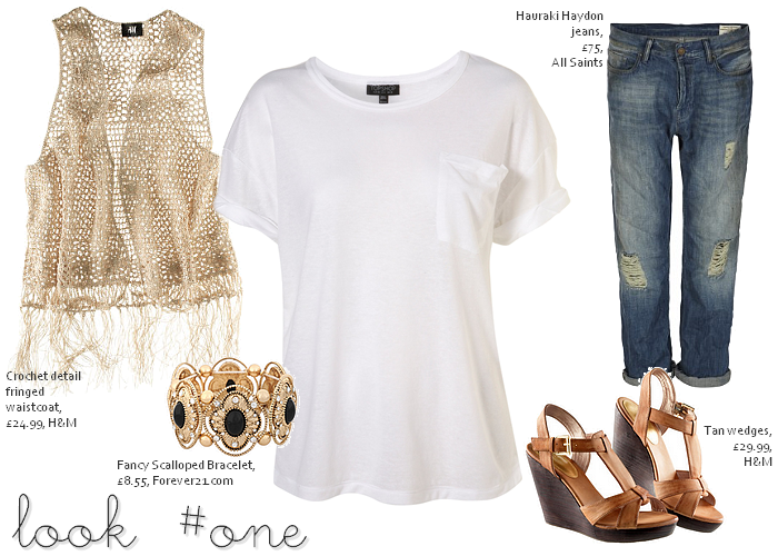 Ways to Wear: White T-Shirts