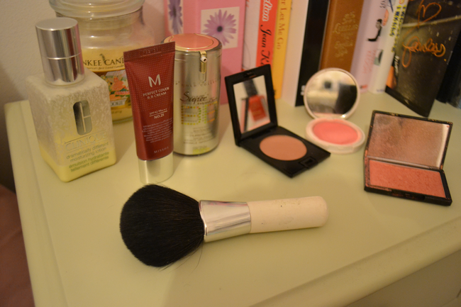 my daily cosmetics