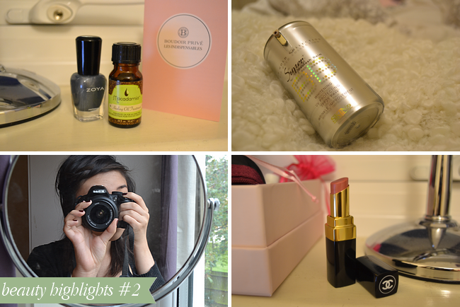 beauty highlights #2: ft. boudoir prive and elle magazine