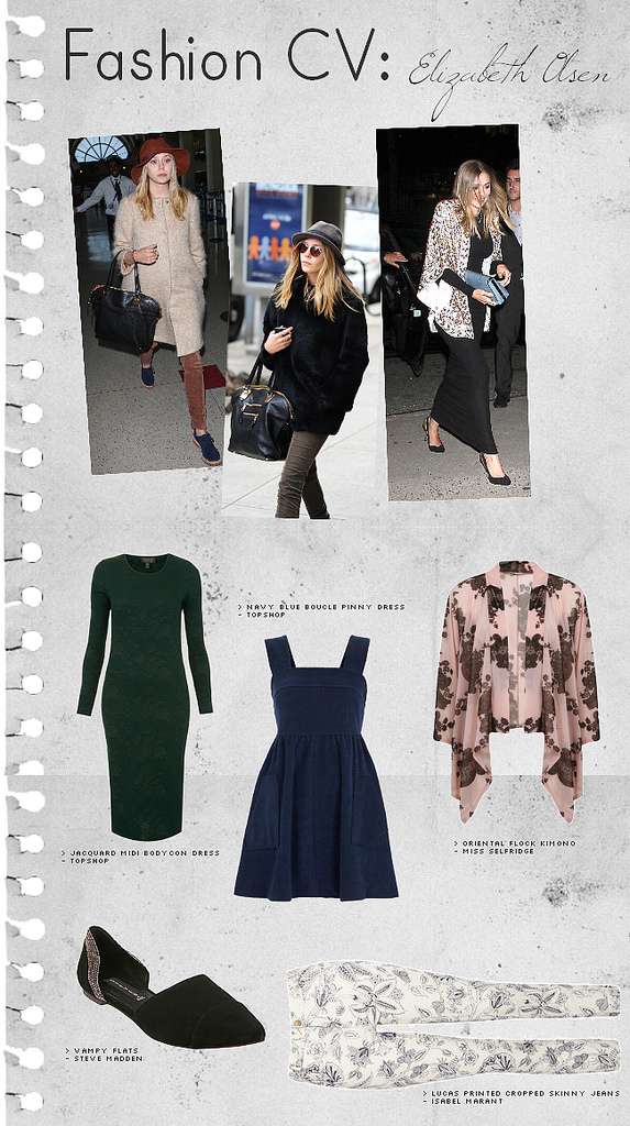 Fashion CV: Elizabeth Olsen
