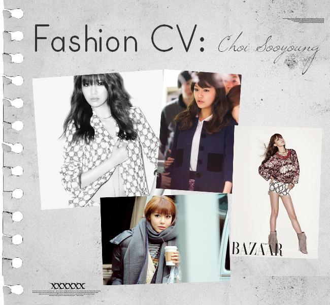 Fashion CV: Choi Sooyoung of SNSD