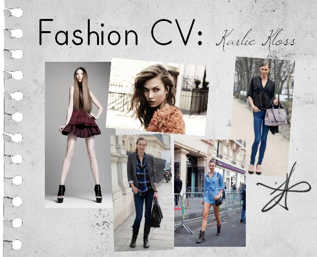 Fashion CV: Karlie Kloss