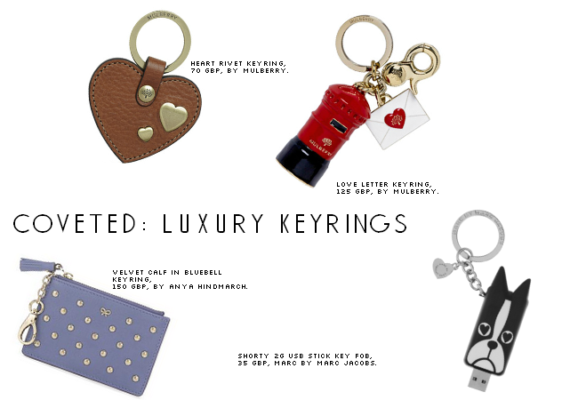 Coveted: Luxury keyrings, yes really
