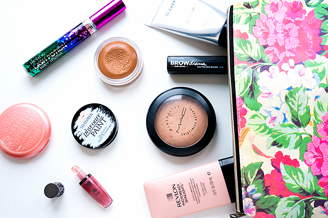 Travel Make-Up Essentials