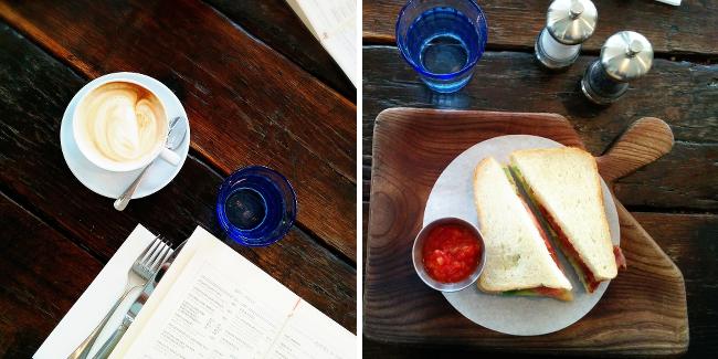 London Food Ideas: The Riding House Cafe