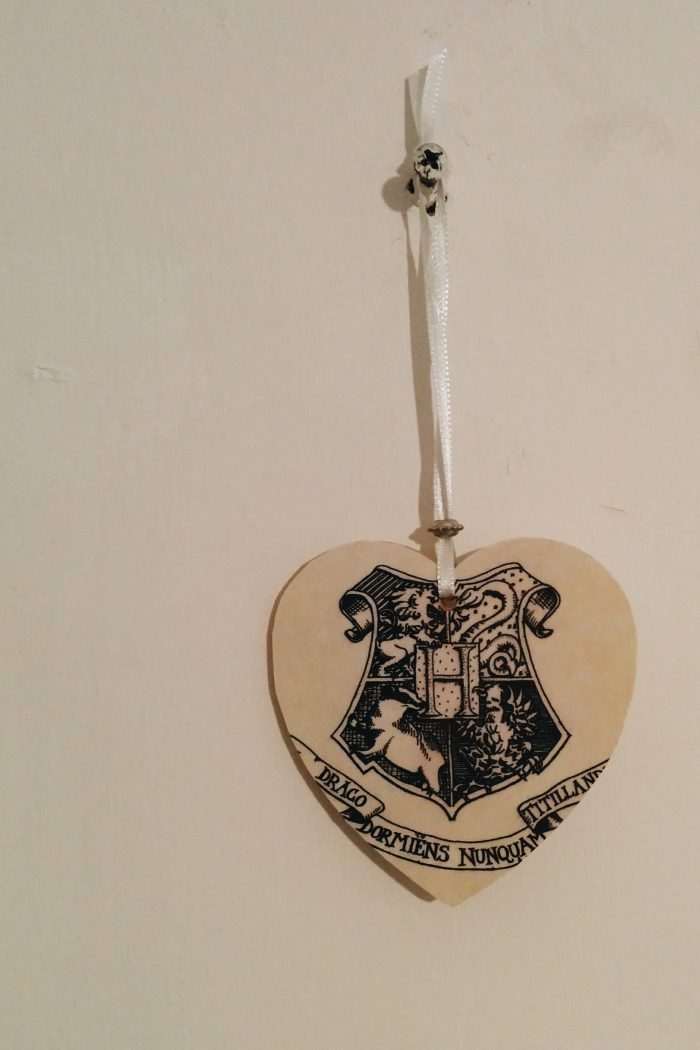 My Hogwarts Hanging Heart