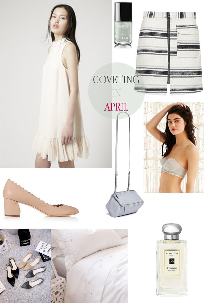 Coveting in April