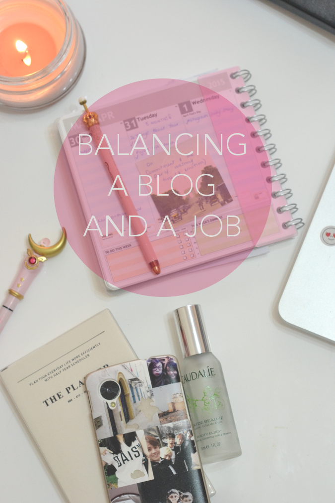 Balancing A Blog and A Job