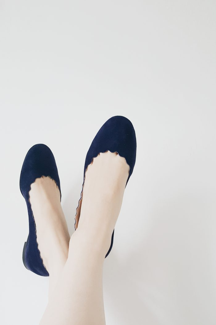 New In: My Chloé Lauren Flats