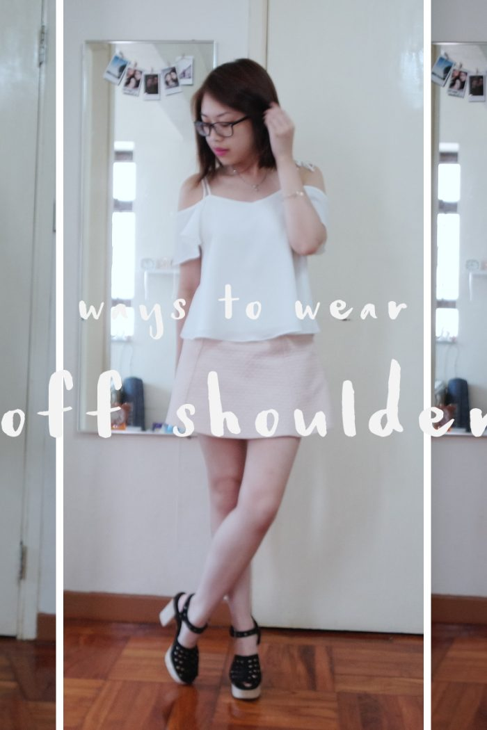 Ways to Wear: The Off-Shoulder Top
