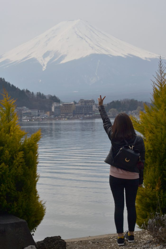 Visiting Mount Fuji