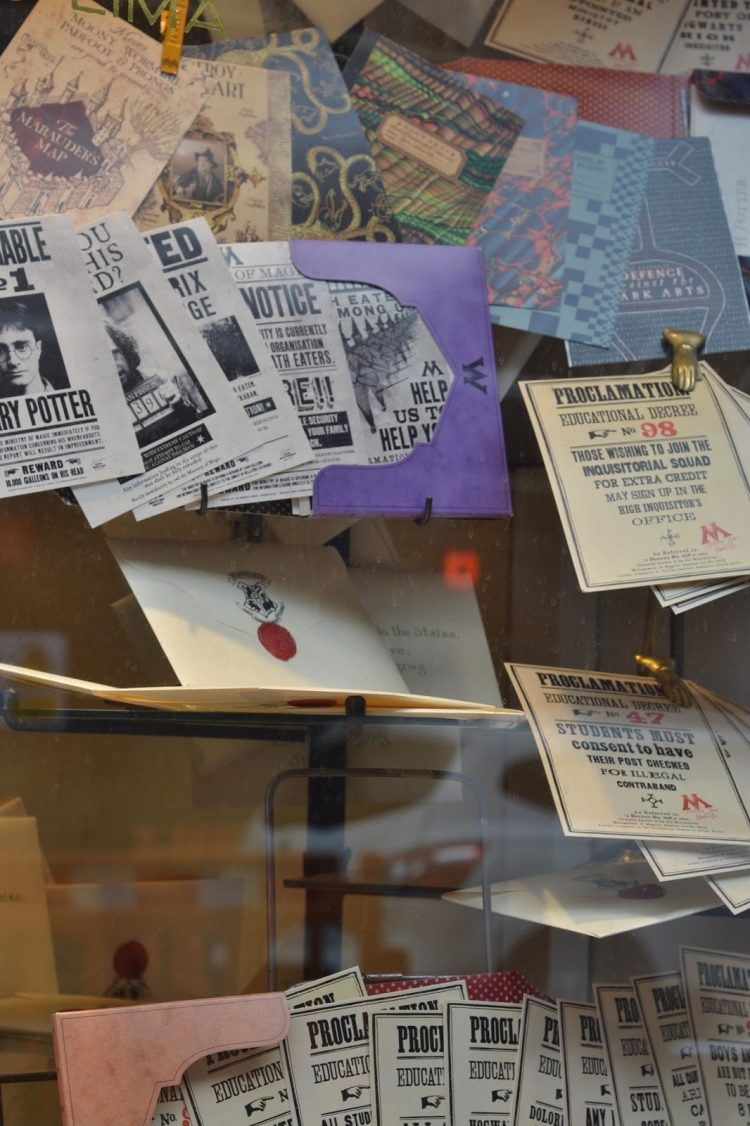 The House of MinaLima, a real-life Diagon Alley store in London.