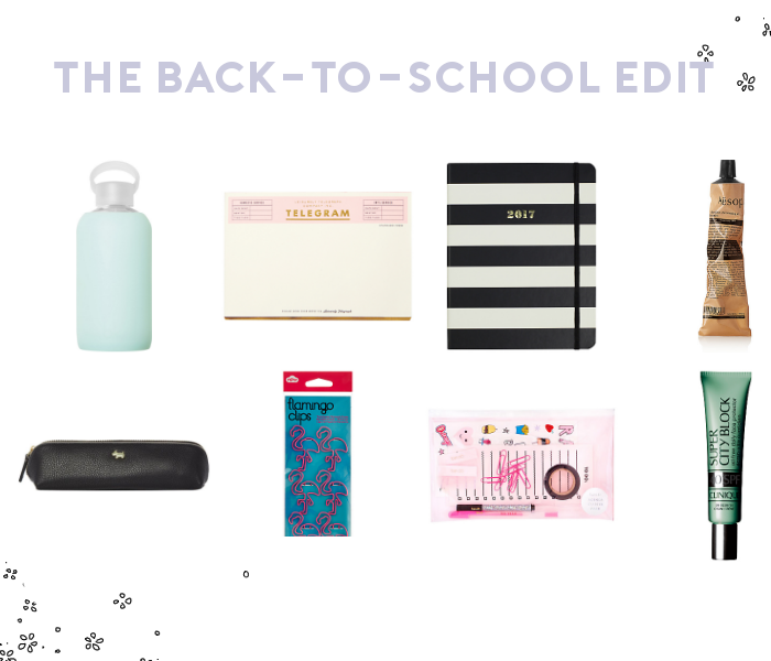 The Back-to-School Edit.