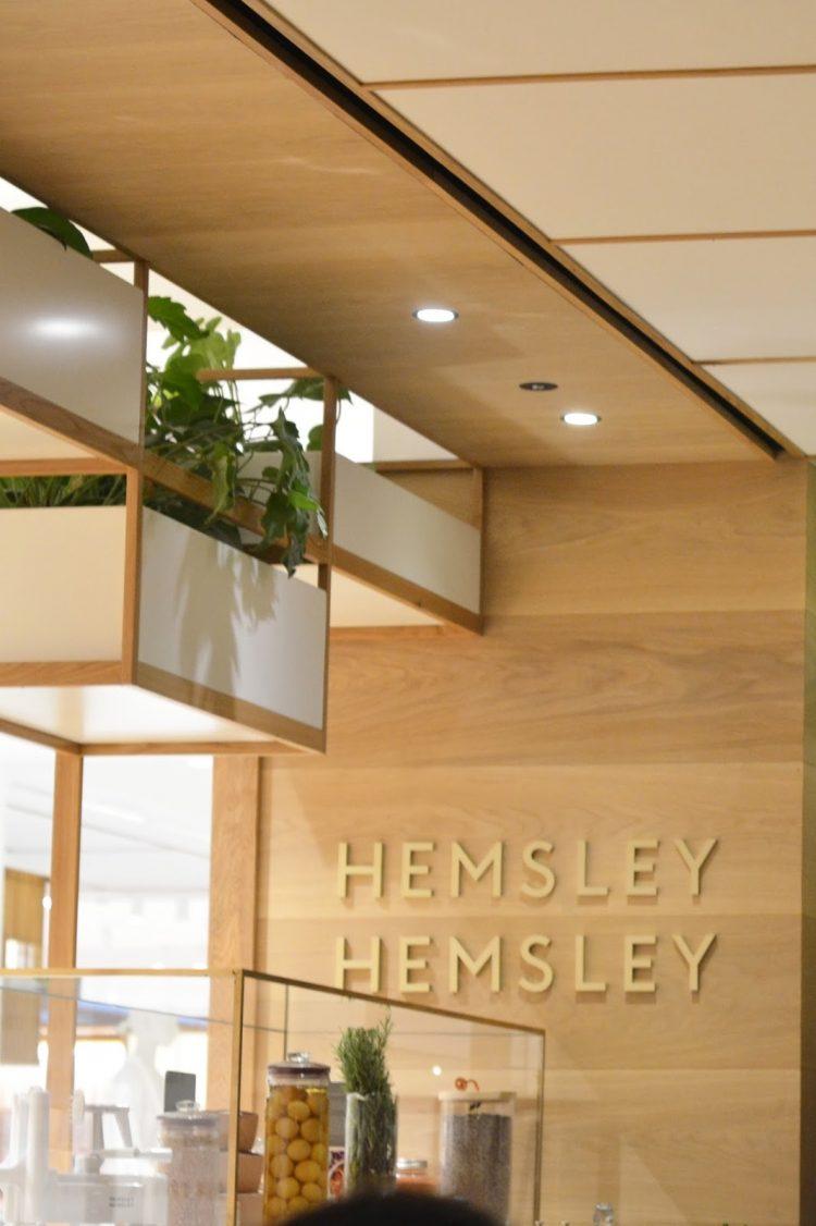 The Hemsley + Hemsley Café in Selfridges, London.