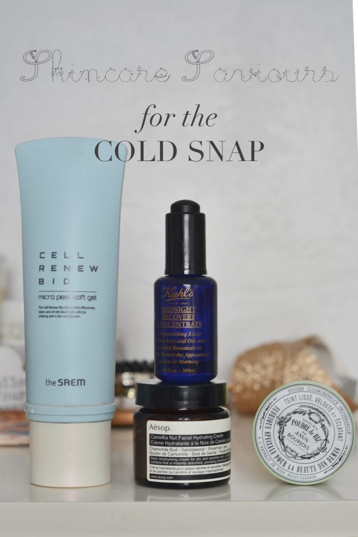 Skincare Saviours for the Cold Snap.