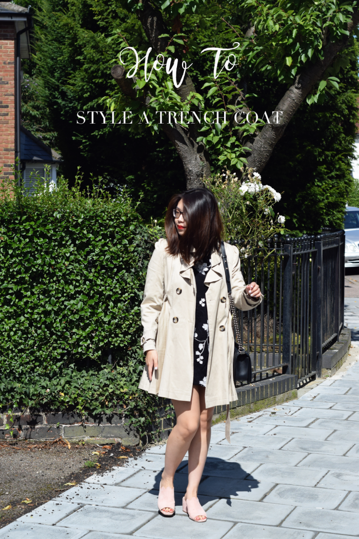 The Art of Styling A Trench Coat