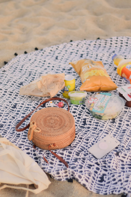 vegetarian beach picnic ideas