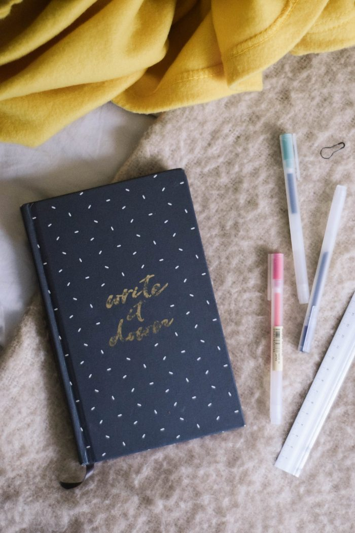 Inside @doodlelou.co's Bullet Journal