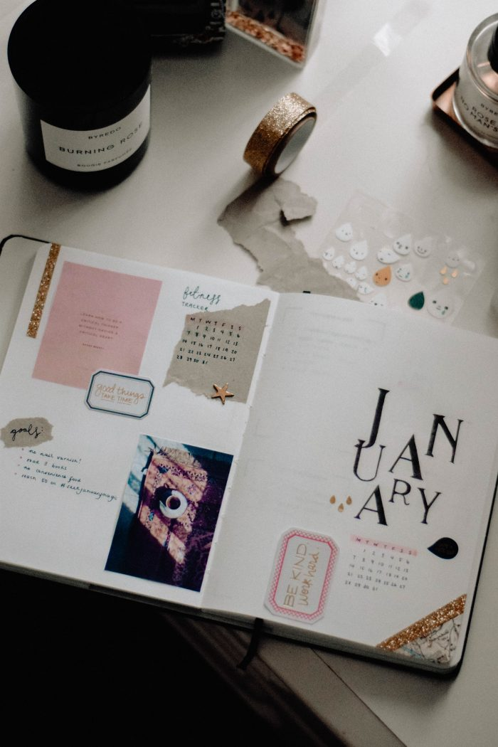 How I Make My Bullet Journal Title Pages