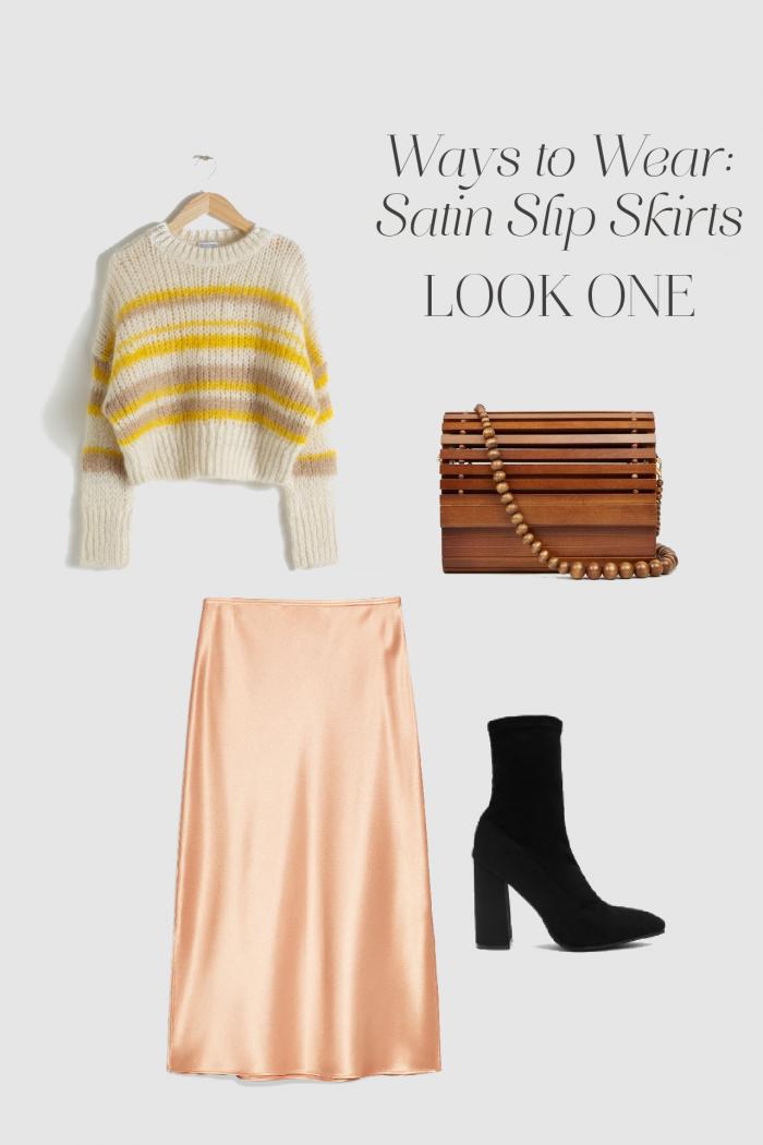 Ways to Wear: Satin Slip Skirts